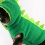 Disfraz de dinosaurio para perro de Etsy