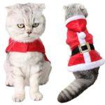 3. Disfraz de Papá Noel para gato de Amazon