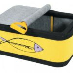 Cama para gatos con forma de lata de sardina de Mascota Planet
